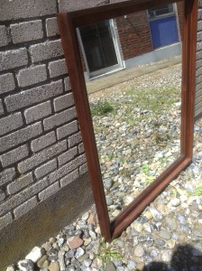 Palisander spejl