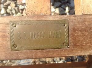 Queen Mary dækstole